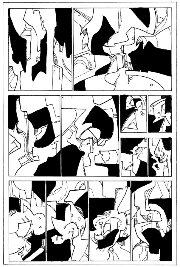An Intercorstalled version of a page from Dungeon Fun, written by Colin Bell and illustrated by Neil Slorance.